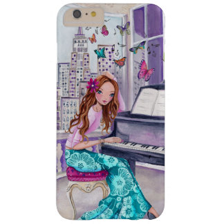 Piano Music Girl in New+York | Iphone 6 plus Case