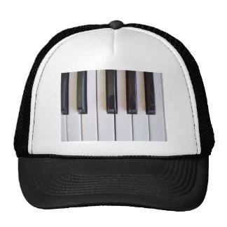 Piano Music Hat