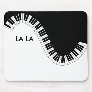 Piano music La La Mouse Mat