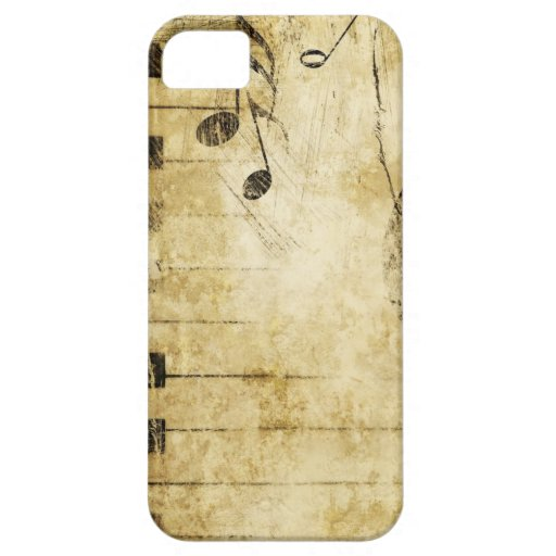Piano Music Notes iPhone 5 Cases
