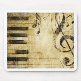 Piano Music Notes Mouse Mat