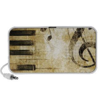 Piano Music Notes iPhone Speaker