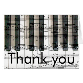 piano music notes thank you