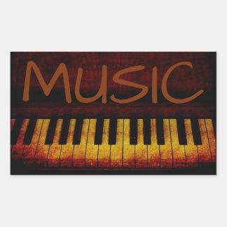 Piano Music Sticker