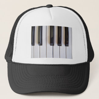 Piano Music Trucker Hat