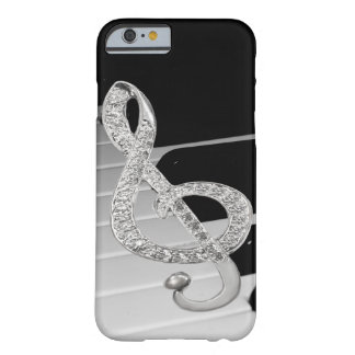 Piano musical symbol barely there iPhone 6 case
