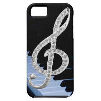 Piano musical symbol iPhone 5 covers