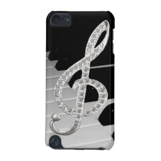 Piano musical symbol iPod touch 5G cover