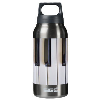 piano notes v1 insulated water bottle