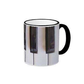 piano notes v1 mug