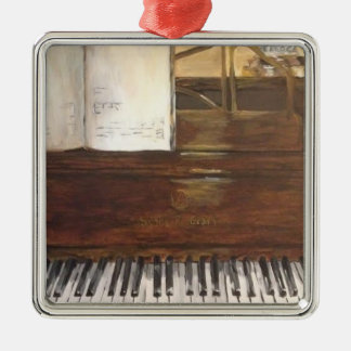 Piano Painting Christmas Ornament