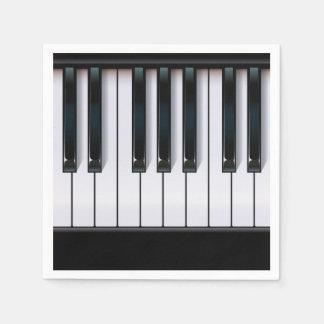 Piano Paper Serviettes