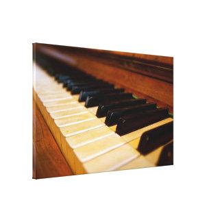 Piano Photo Canvas Prints