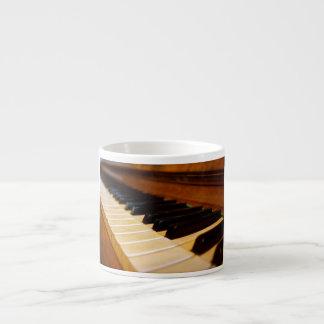 Piano Photo 6 Oz Ceramic Espresso Cup