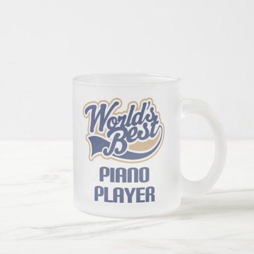 Piano Player Gift (Worlds Best) Mug