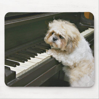 piano player mouse mat
