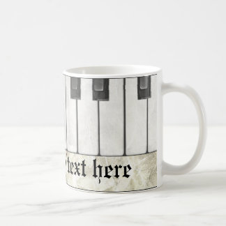 Piano Player or Teacher Mug