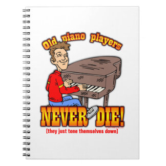 Piano Players Notebooks