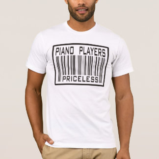 Piano Players Priceless T-Shirt