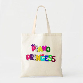 Piano Princess Tote Bag