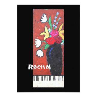 Piano Recital invitation II