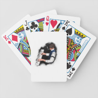 Piano Singer Bicycle Playing Cards