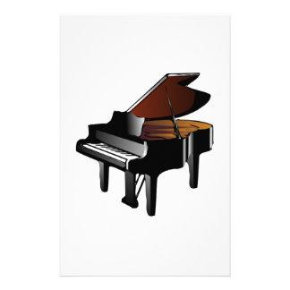 Piano Custom Stationery