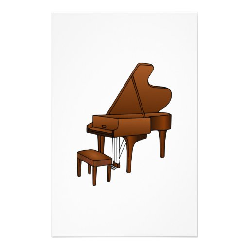 Piano Stationery Paper