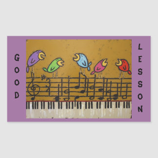 piano student stickers