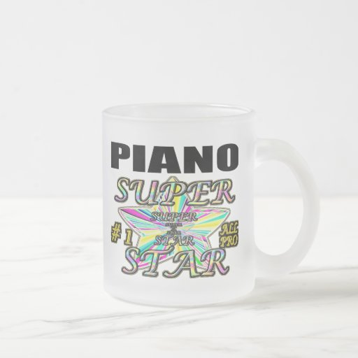 Piano Superstar Mugs