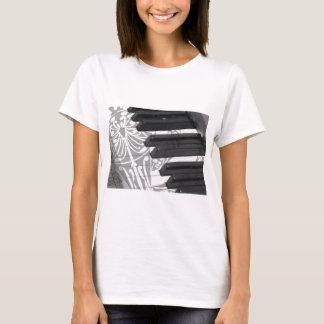 Piano Tattoo T-Shirt