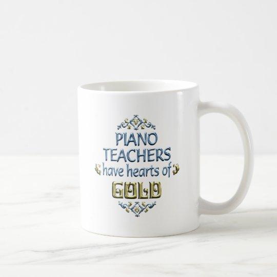 Piano Teacher Appreciation Coffee Mug