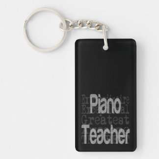 Piano Teacher Extraordinaire Key Ring