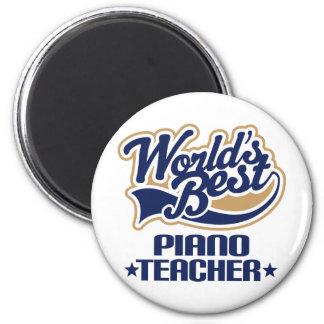 Piano Teacher Gift Fridge Magnet