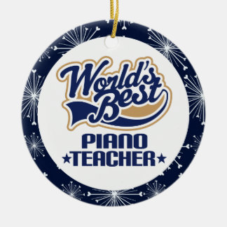 Piano Teacher Gift Ornament