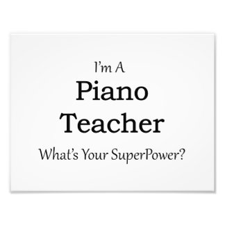 Piano Teacher Art Photo