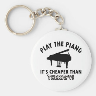 piano therapy design key ring