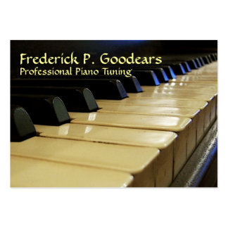 Piano Tuner Business Card