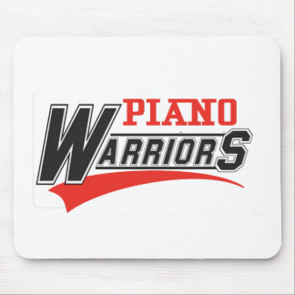 Piano warriors design mouse pad