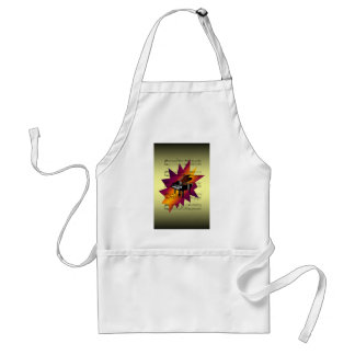 Piano With Sheet Music Background Standard Apron