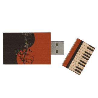 Piano Wood USB 3.0 Flash Drive