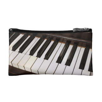 Piano Zippered Pouch Makeup Bags