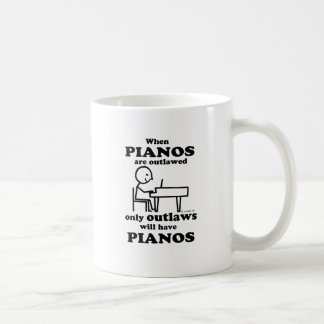 Pianos Outlawed Coffee Mug