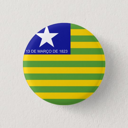 Piauí, Brazilian state flag button