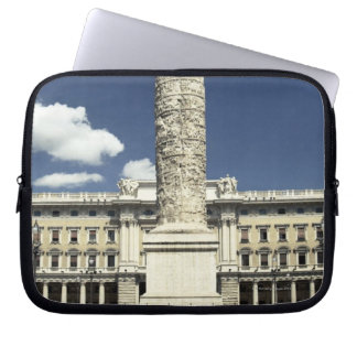 Piazza Colonna, Italy Laptop Sleeve