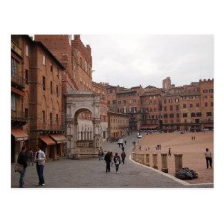 Piazza del Campo, Siena postcard