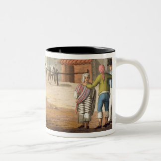 Piazza del Mercato, Buenos Aires, Argentina, from Two-Tone Coffee Mug