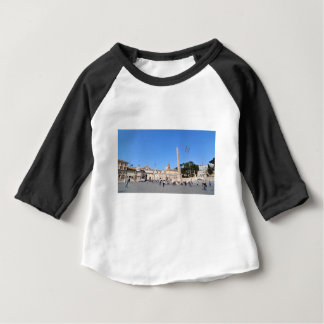 Piazza del Popolo, Rome, Italy Baby T-Shirt