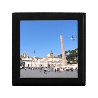 Piazza del Popolo, Rome, Italy Gift Box