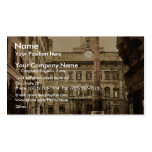 Piazza di Monte Citorio, Rome, Italy classic Photo Pack Of Standard Business Cards